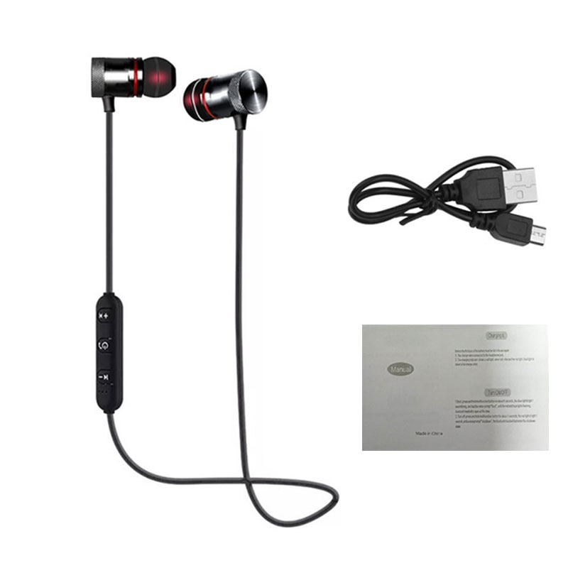 Magnetic Bluetooth Sports Headphones