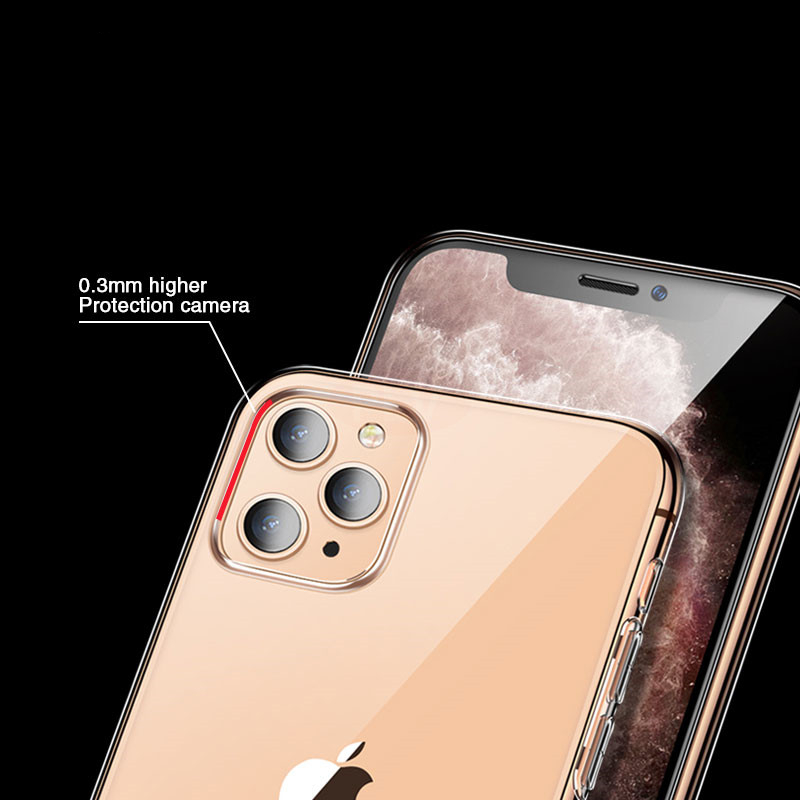 Ultra Thin Clear Silicone iPhone Case