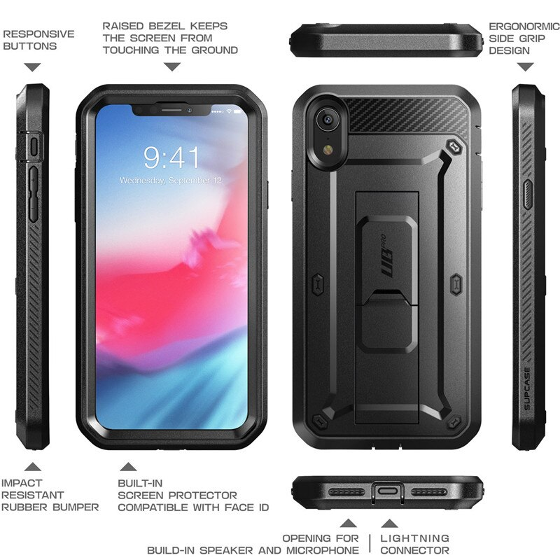 Dirt-Resistant Rugged Phone Case for iPhone XR